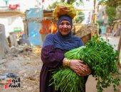 صورة اليوم.. إلى الست اللى فى عيونها رضا وأمل باينين