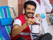 """خالد النبوى عن حملة التبرع بالدم: """"نعمل المعروف والناس لبعضيها"""""""