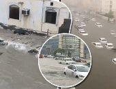 الدوحة تغرق.. قطر تحول 9 رحلات جوية لمطارات عمان والكويت بسبب الأمطار