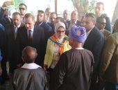 وزيرة الصحة تعلن الانتهاء من مستشفى ابوتيج المركزى الجديد لخدمة أسيوط