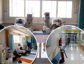 """صور.. """"اليوم السابع"""" داخل وحدة الغسيل الكلوى بمستشفى الدمرداش بعد تطويرها.. إنشاء وحدة غسيل مجمعة ولأول مرة غرفة للغسيل """"البريتونى"""" وتجهيز استراحات لاستقبال المرضى.. وهوايدا الشناوى: جلسات فصل البلازما للمرضى"""