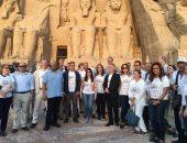 وزيرة السياحة: مشاركة الآلاف باحتفالات تعامد الشمس دليل عودة السياحة الثقافية