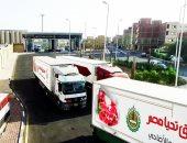 صندوق تحيا مصر يستقبل 200 طن من لحوم الهدى والأضاحى بميناء سفاجا