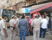 إزالة 706 مخالفات فى حملة مكبرة بسوهاج لرفع الإشغالات