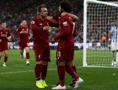 فيديو.. شاكيرى يدمر مانشستر يونايتد بهدف ليفربول الثالث فى الدقيقة 83