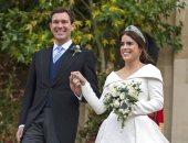 والد الأميرة يوجينى ينشر صورا من زفافها بعد 10 أيام