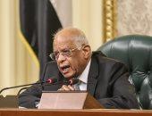 رئيس البرلمان: محاولات الإرهابيين لزرع بذور الفتنة لم تترك أى أثر فى الوطن