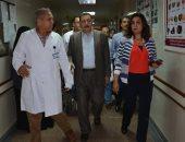 محافظ دمياط تتفقد المستشفى التخصصى وتتابع أعمال إنشاء الأقسام