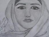 ابتسام تشارك برسوماتها وتؤكد: أحلم أن أكون فنانة عالمية
