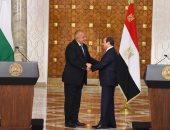 صور.. الرئاسة: اتفاق على الإسراع بتشكيل منتدى الأعمال المصرى البلغارى