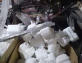 صور.. شرطة التموين تضبط مخازن قطع غيار سيارات مجهولة المصدر بالأزبكية