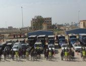تعزيزات أمنية بمحيط ستاد القاهرة قبل انطلاق مباراة مصر والكونغو