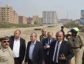 محافظ كفر الشيخ يتفقد عددا من المواقع لإقامة مشروعات للمنفعة العامة