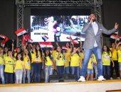 صور.. رئيس مستقبل وطن ومحافظ الإسماعيلية يشاركان فى احتفالية ذكرى أكتوبر