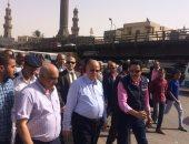 محافظ القاهرة يوجه بتشغيل السوق الحضارى للباعة بميدان السيدة عائشة
