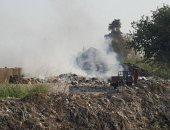 شكوى من أهالى مركز كفر صقر بالشرقية بسبب مقالب قمامة وحرقها بجوار المساكن