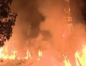 شاهد.. صواعق جوية تحرق كنيسة فى الولايات المتحدة