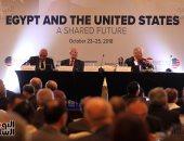 صور.. رئيس الغرفة الأمريكية: الولايات المتحدة تعد ثالث أكبر الشركاء التجاريين لمصر