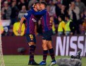 فيديو.. برشلونة يتفوق على إنتر ميلان 0/1 فى الشوط الأول بدورى الأبطال