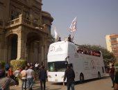 """صور.. أسرة """"من أجل مصر"""" تنظم احتفالية بنصر أكتوبر فى جامعة عين شمس"""