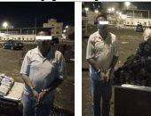 صور.. إحباط تهريب 617 ألف قرص كابتاجون داخل شاحنة بالإسماعيلية