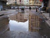 صور.. شكوى من انتشار مياه الصرف الصحى بشارع الملكة بفيصل