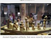 """""""إيجيبت توداى"""" يفضح مزاعم محطة ABC الأسترالية بشأن قيمة الآثار المهربة من مصر"""