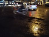 صور .. هطول أمطار غزيرة على مدن وقرى كفر الشيخ