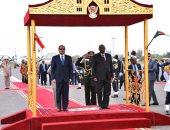الرئاسة: توافق بين مصر والسودان حول مواصلة دفع التعاون المشترك لصالح البلدين