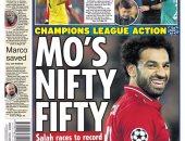 """محمد صلاح """"سوبر ستار"""" الصحافة الإنجليزية بعد تألقه مع ليفربول.. صور"""