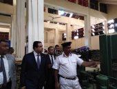 صور.. علاء عابد بعد تفقده سجن طرة: السجناء أكدوا لنا حسن معاملتهم