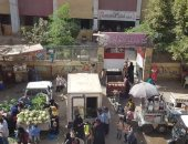شكوى من انتشار الباعة الجائلين بشارع ترعة الشابورى فى شبرا الخيمة
