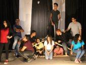 """طلاب فرقة """"شارع 9"""" يقدمون أول عروضهم على مسرح الهوسابير"""