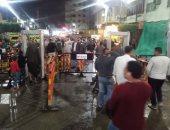 صور.. الأمطار لم تمنع الآلاف من حضور الليلة الختامية لمولد الدسوقى