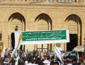 صور .. ختام فعاليات مولد الدسوقى بمسيرة للطرق الصوفية
