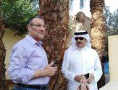 السفير السعودى يكشف قيادة الأمير سلطان بن سلمان لطائرته خلال رحلته إلى الأقصر