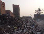 قارئ يشكو من انتشار القمامة بشارع جمال عبد الناصر بجسر السويس