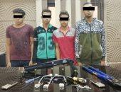 القبض على 4 عاطلين يقودون عصابة سرقة التوك توك فى حلوان