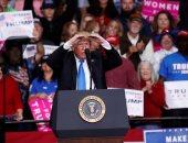 صور.. ترامب يتهم وسائل الإعلام باستخدام قضية الطرود ضده لإحراز نقاط سياسية