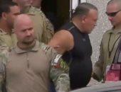 صور..المتهم بإرسال الطرود المفخخة لشخصيات بارزة أمريكية فى قبضة الشرطة