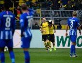 فيديو.. هيرتا برلين يوقف انتصارات دورتموند فى الدوري الألماني بهدف قاتل