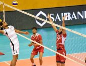 """""""صور"""".. البحرين تهزم عمان 3/0 فى  انطلاق البطولة العربية للطائرة"""