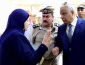 تعليمات لمدير أمن كفر الشيخ بحسن معاملة المواطنين