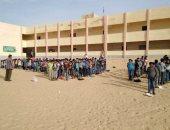 مجلس أمناء تعليم شمال سيناء: انتظام الدراسة بقرية البرث جنوب رفح
