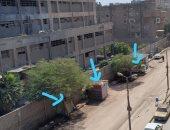 قارئ يشكو من إشغالات الطريق بشارع فى شبرا الخيمة