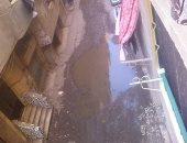 مياه الصرف الصحى تغرق شارع العمدة القديم بالهرم ومناشدة بسرعة شفطها