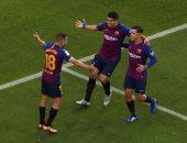 ملخص وأهداف مباراة برشلونة ضد ريال مدريد فى الكلاسيكو 5 - 1
