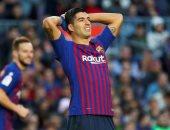 25 ساعة بدون تسجيل.. معاناة سواريز خارج ملعب برشلونة لا تتوقف