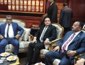 """وفد حقوق الإنسان بـ""""النواب"""" يصل مديرية أمن بني سويف"""