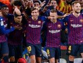 شاهد.. كل أهداف الأحد.. برشلونة يذل ريال مدريد بخماسية فى الليجا